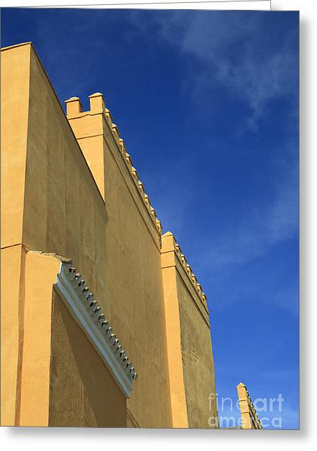 Midday.light Greeting Cards - Crenels Alcazar Greeting Card by Patricia Hofmeester