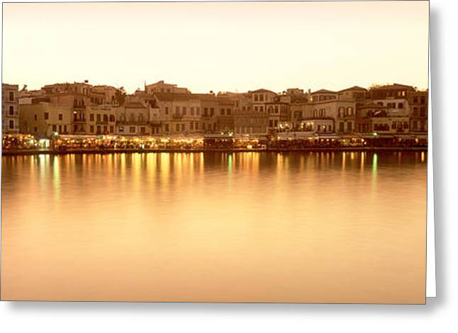 Crete Greeting Cards - Crete Greece Greeting Card by Panoramic Images