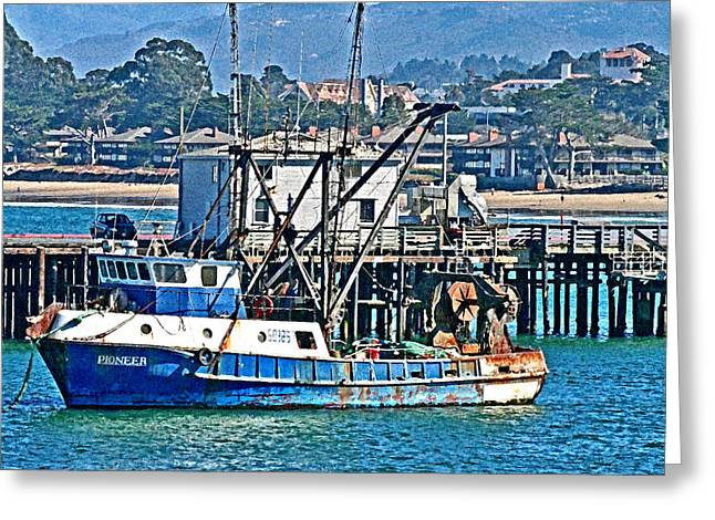 Seacape Digital Art Greeting Cards - Crew Wanted Greeting Card by Joseph Coulombe