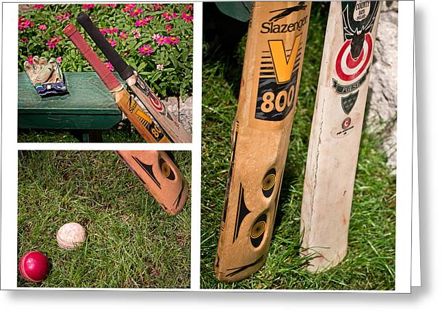 Spheroid Greeting Cards - Cricket Series Greeting Card by Tom Gari Gallery-Three-Photography