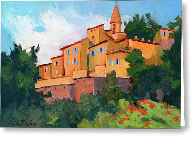 Kasbah Greeting Cards - Crillon Le Brave Greeting Card by Diane McClary