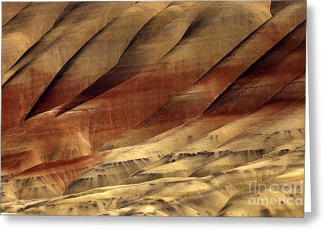 Central Greeting Cards - Crimson and Gold Greeting Card by Mike  Dawson