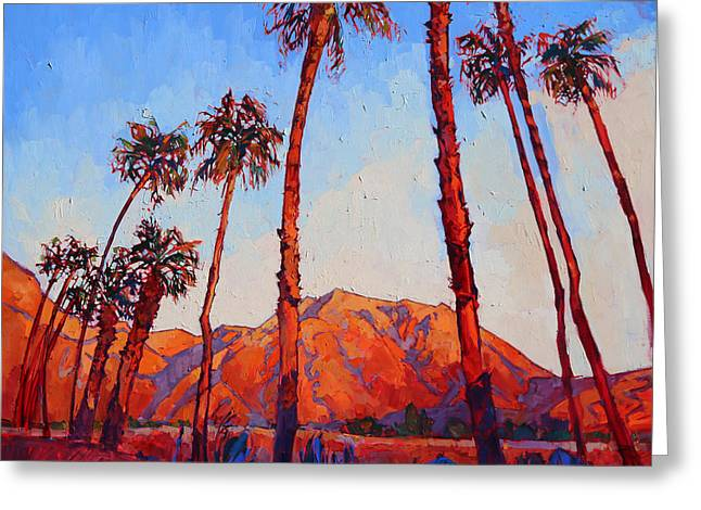 Erin Greeting Cards - Crimson Borrego Greeting Card by Erin Hanson