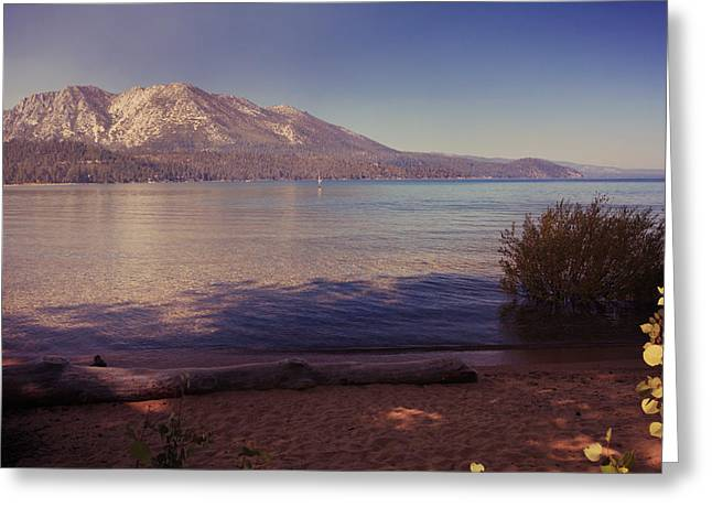 California Lakes Greeting Cards - Crisp and Clear Greeting Card by Laurie Search