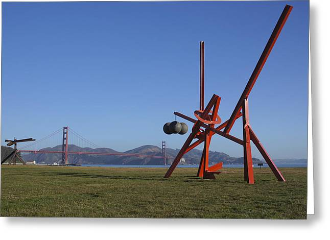 Sausalito Greeting Cards - Crissy Field Greeting Card by Brian Kamprath