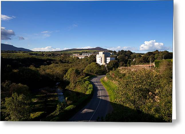 Enterprise Greeting Cards - Croaghaun Hill And Flahavans Mills Greeting Card by Panoramic Images