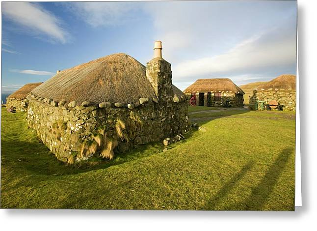 Crofting Museum At Peingown Greeting Card by Ashley Cooper