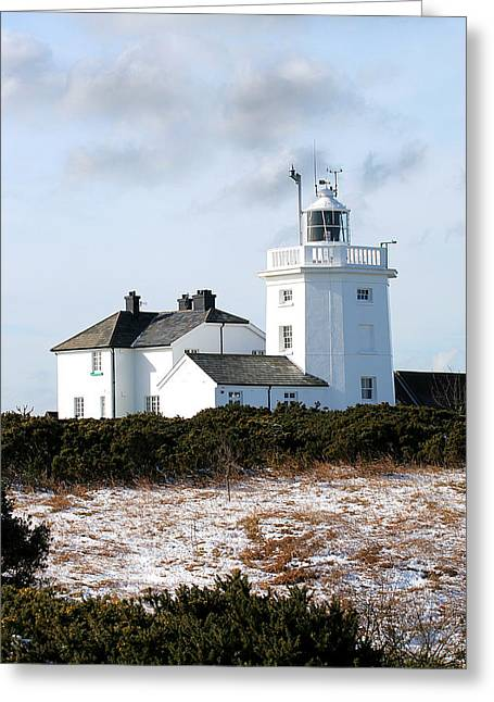 Cromer Lighthouse Greeting Card by Paul Lilley