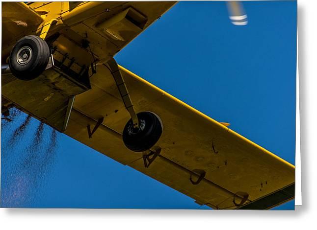 Air Tractors Greeting Cards - Crop Dusting 5 Greeting Card by Gej Jones