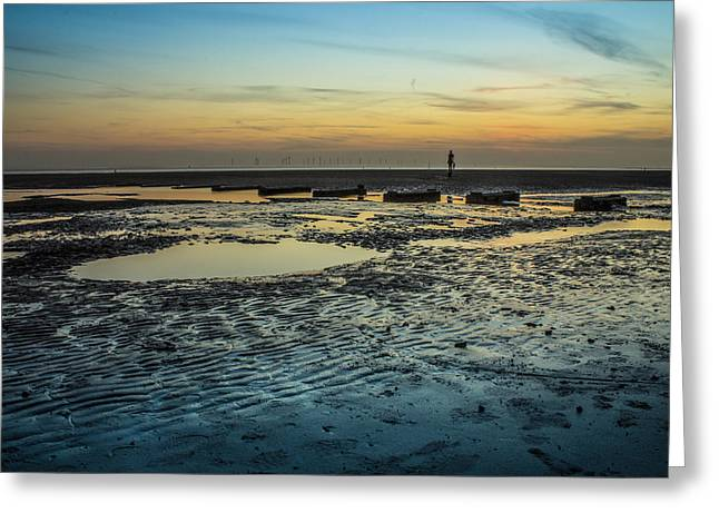 Crosby Greeting Cards - Crosby Beach Greeting Card by Paul Madden