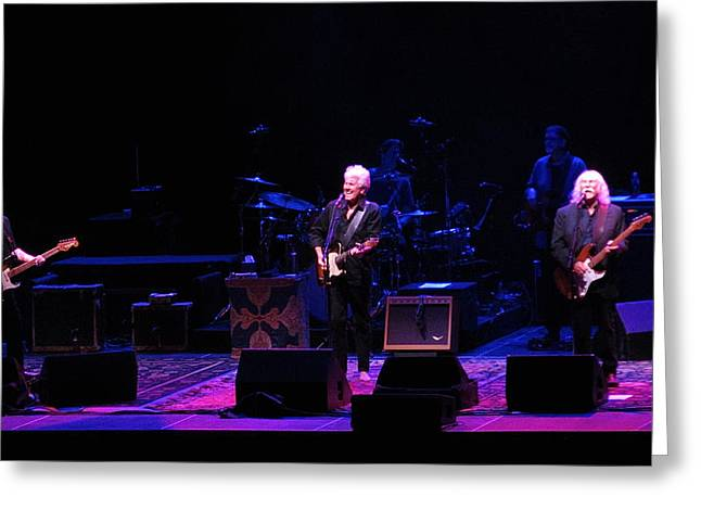 Neil Young Photographs Greeting Cards - Crosby Stills And Nash Greeting Card by Melinda Saminski
