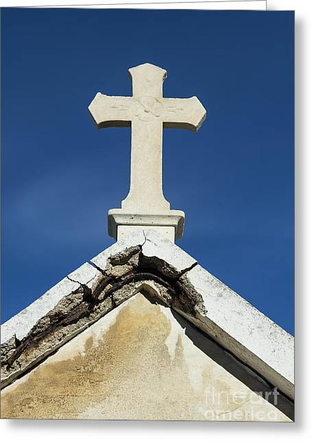 Southern France Greeting Cards - Cross  Greeting Card by John Greim