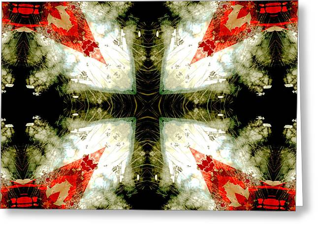 Forgiveness Digital Art Greeting Cards - Cross of Forgiveness Greeting Card by David G Paul