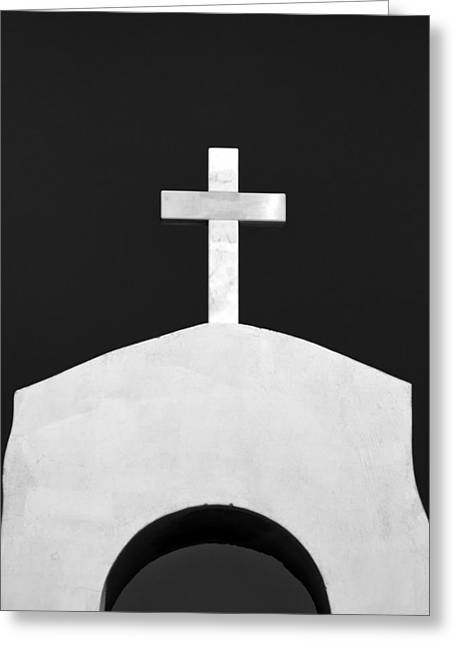 Old Christ Church Greeting Cards - Cross Greeting Card by Stylianos Kleanthous