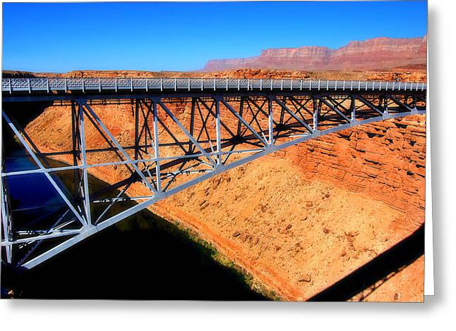 The Plateaus Greeting Cards - Crossing The Colorado Greeting Card by See My  Photos