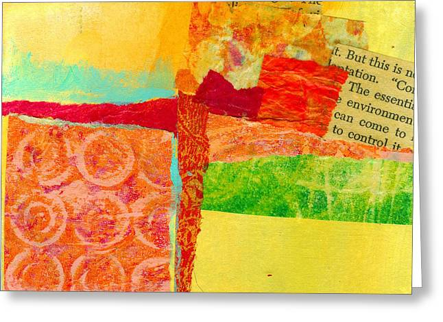Crossroads Greeting Cards - Crossroads 54 Greeting Card by Jane Davies