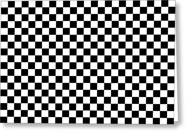 Checkmate Greeting Cards - Crossword Fanatic Greeting Card by Daniel Hagerman