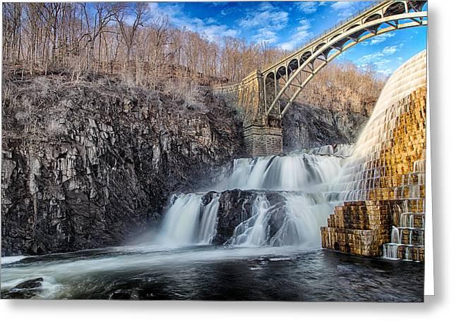 Emmanouil Greeting Cards - Croton Falls Bridge Greeting Card by Emmanouil Klimis