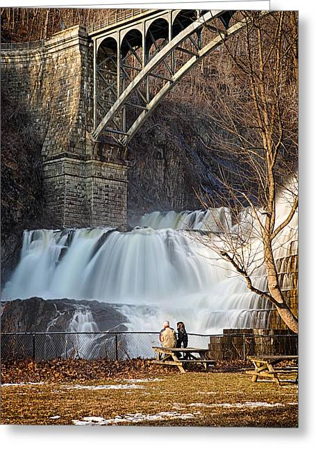 Emmanouil Klimis Greeting Cards - Croton Falls View Greeting Card by Emmanouil Klimis
