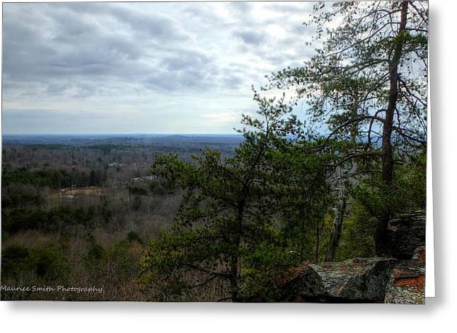 Gastonia Greeting Cards - Crowders Mountain in December Greeting Card by Maurice Smith