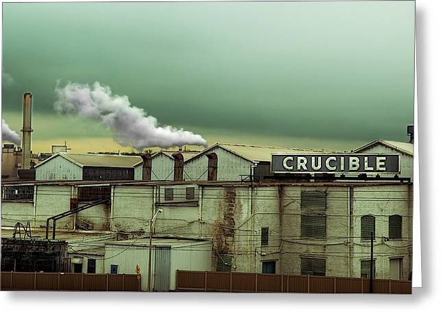 Recently Sold -  - Purchase Greeting Cards - Crucible Greeting Card by Steven  Michael