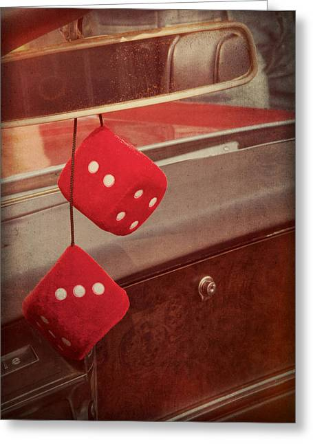 Glove Box Greeting Cards - Cruise Greeting Card by Odd Jeppesen