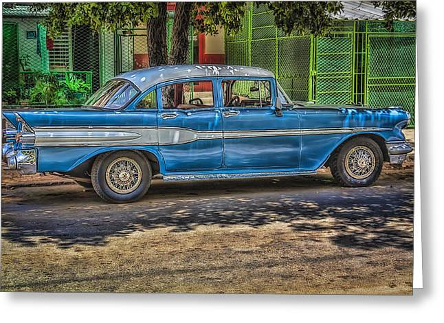 Cruisin Havana Greeting Card by Erik Brede