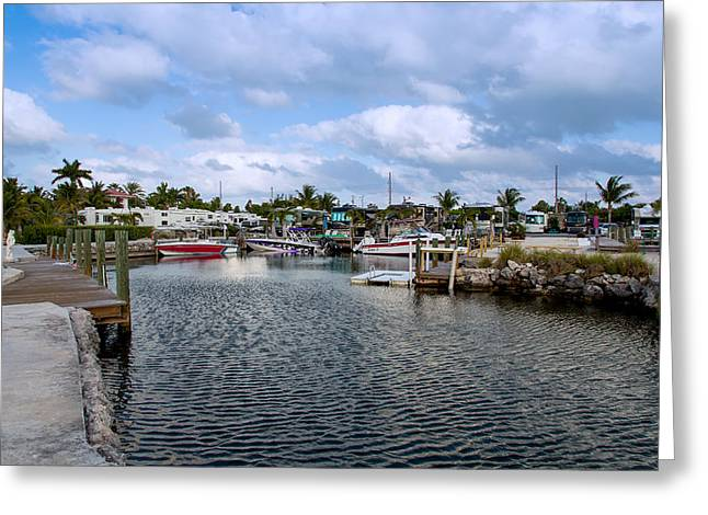 Jetty View Park Greeting Cards - Cruising into Camp Greeting Card by John Bailey
