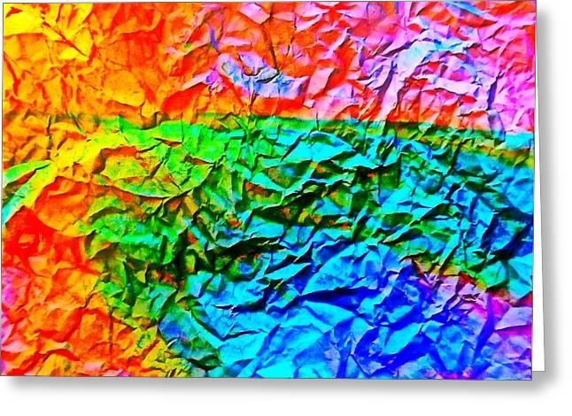 Digital Fine Pastels Greeting Cards - Crushed Dreams Greeting Card by Elizabeth Sullivan