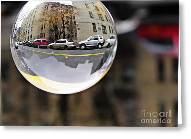 Washington Heights Greeting Cards - Crystal Ball Project 89 Greeting Card by Sarah Loft