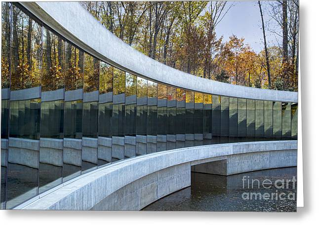 Arkansas Greeting Cards - Crystal Bridges Greeting Card by Elena Nosyreva