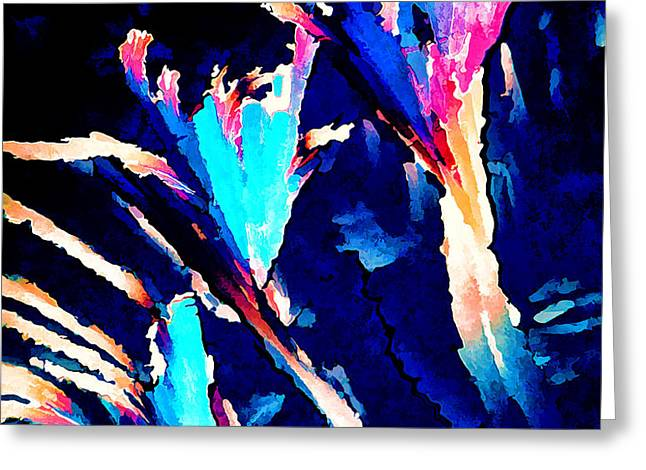 Crystal C Abstract Greeting Card by Bill Caldwell -        ABeautifulSky Photography