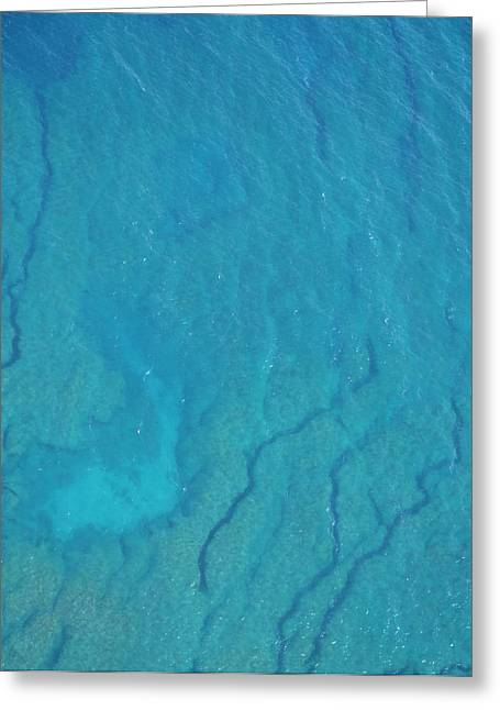 My Ocean Greeting Cards - Crystal Clear Reef from above Greeting Card by Kai Hyde