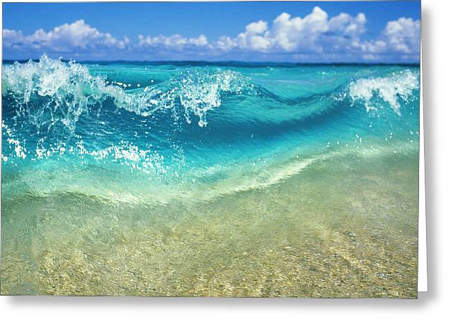 Vince Greeting Cards - Crystal Clear Greeting Card by Vince Cavataio - Printscapes