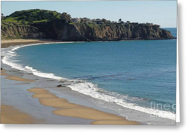 Crystal Cove View - 02 Greeting Card by Gregory Dyer