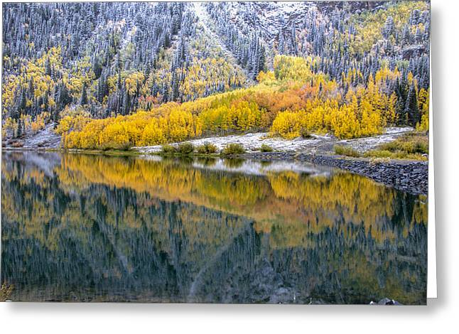 Mining Photos Greeting Cards - Crystal Lake Area 1 Greeting Card by Paul Cannon