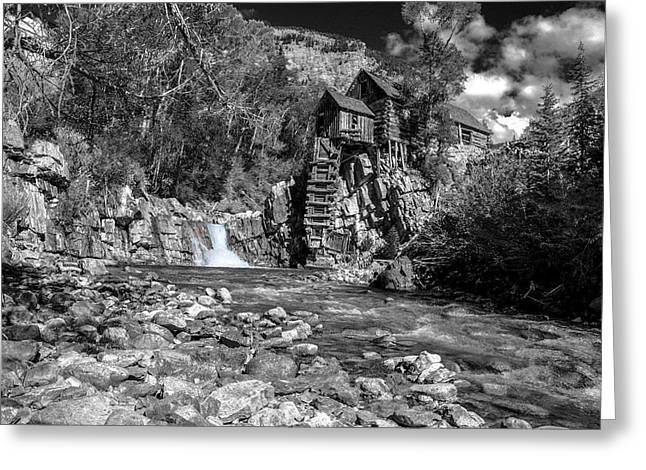 Peaceful Scenery Greeting Cards - Crystal Mill 4 Greeting Card by Paul Cannon