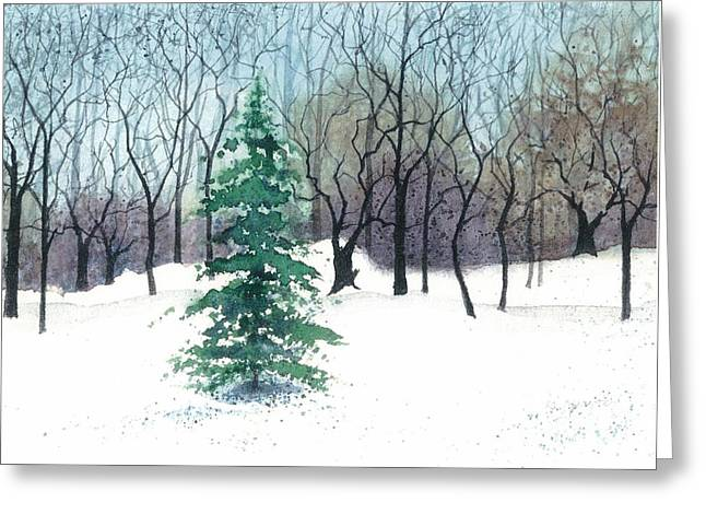 Crystal Morning Greeting Card by Barbara Jewell