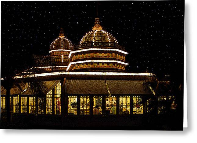 Stary Greeting Cards - Crystal Palace Greeting Card by David Lee Thompson