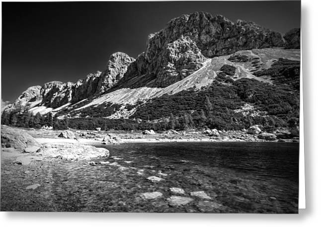Mountain Valley Greeting Cards - Crystal Waters Greeting Card by Ian Hufton