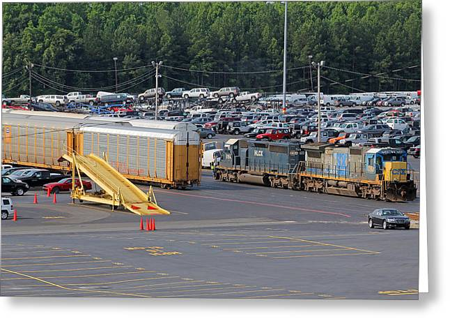 Leasing Greeting Cards - CSX Dixiana SC Greeting Card by Joseph C Hinson Photography