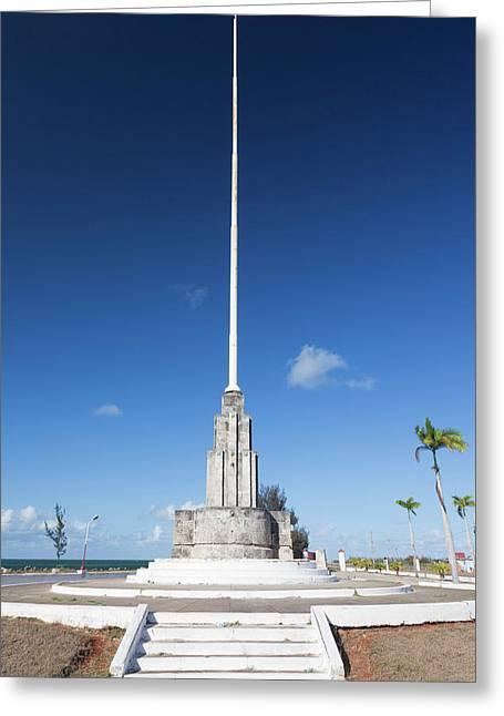 Cuba, Matanzas Province, Cardenas Greeting Card by Walter Bibikow