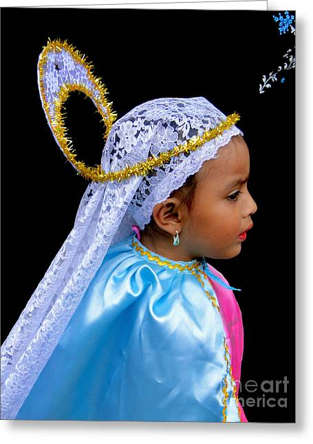 Sweetness Greeting Cards - Cuenca Kids 363 Greeting Card by Al Bourassa