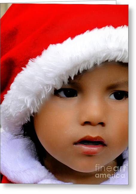 Innocence Child Greeting Cards - Cuenca Kids 570 Greeting Card by Al Bourassa