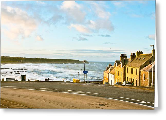 Sweeping Greeting Cards - Cullen Bay Greeting Card by Tom Gowanlock
