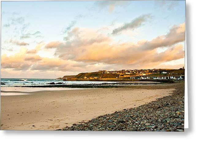 Cullen Beach Greeting Card by Tom Gowanlock