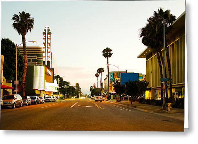 Kirk Douglas Greeting Cards - Culver City, Los Angeles County Greeting Card by Panoramic Images