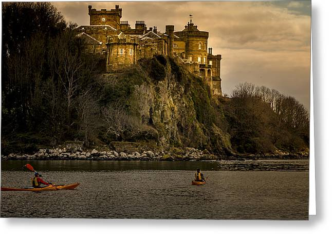 Culzean Castle Scotland Greeting Card by Alex Saunders