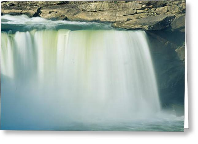 Body Of Water Greeting Cards - Cumberland Falls, Cumberland River Greeting Card by Panoramic Images