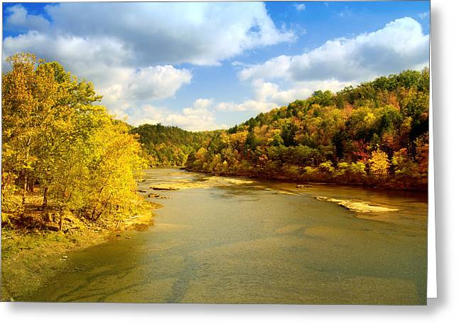 Cumberland River Greeting Cards - Cumberland River Greeting Card by Alexey Stiop